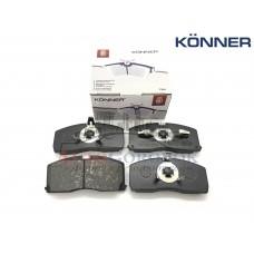 Колодки тормозные передние (c ABS) Geely CK KONNER