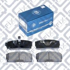 Колодки тормозные передние (c ABS) Geely CK Q-FIX