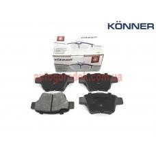 Колодки тормозные задние Geely Emgrand EC7/EC7RV KONNER