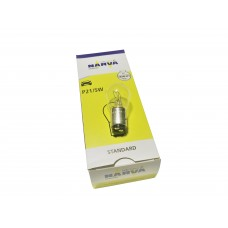 Лампа 2 конт. Narva (x10) P21/5W 12V 21/5W BAY1