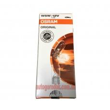 Лампа Osram W5W 12V 5W W2.1x9.5D